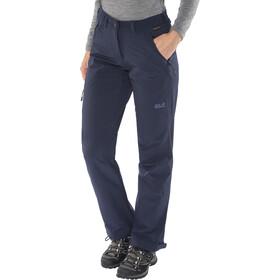 Jack Wolfskin Activate XT Pantalon Femme, midnight blue